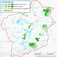 Overall solution for Fillongley catchment