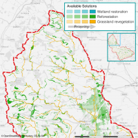 Windrush Soil Adsorbing Pollutant Reduction Map